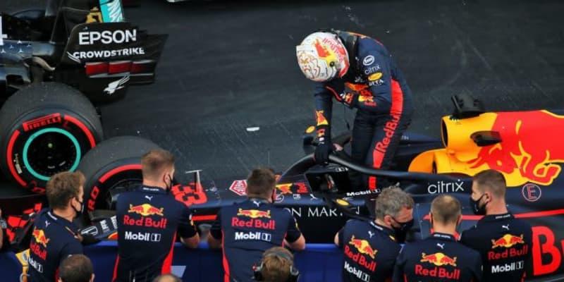 フェルスタッペンが最前列獲得「キャリアベストの予選。有利なタイヤで好結果目指す」レッドブル・ホンダ【F1第10戦】