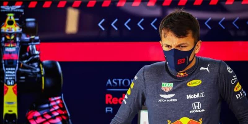 アルボン予選10番手「Q3で思うように向上せず困惑している」レッドブル・ホンダ【F1第10戦】