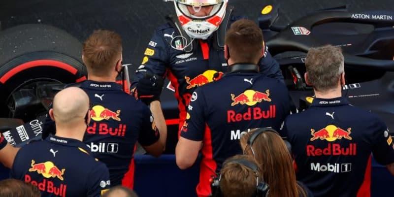 レッドブル代表「フェルスタッペンは賢く戦い、2番手という驚くべき結果を達成した」【F1第10戦予選】