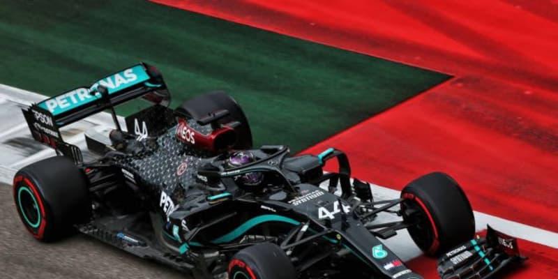 F1 Topic:ハミルトンがピットレーンでQ2再開を待たなかった理由。タイヤ戦略変更で、レースに影響も