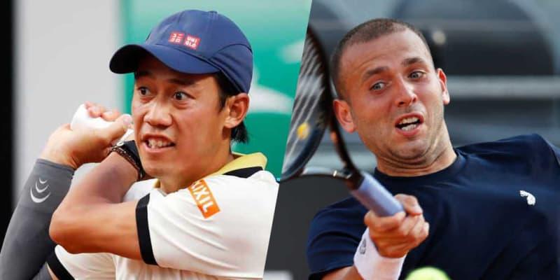 【27日20時頃開始予定】錦織圭の「全仏オープン」1回戦。世界34位エバンズと対戦