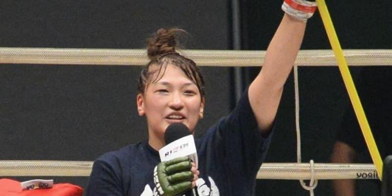 RENAが突然の引退宣言!判定勝利後に「あと2、3試合でリングから降りようと」