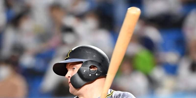 阪神・近本リーグトップの20盗塁から4番サンズが先制適時打