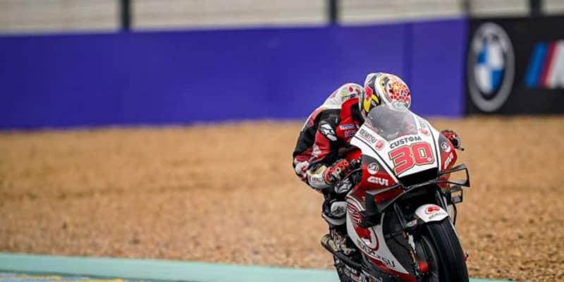 中上「周回を重ねるごとにラップタイムを更新できた」/MotoGP第10戦初日トップ3コメント