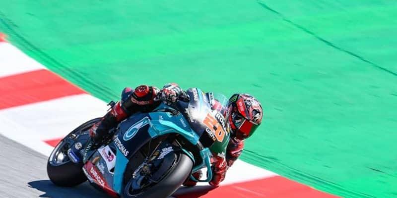 MotoGP第10戦:クアルタラロが2020年3度目のポールポジションを獲得。中上はQ2進出を逃す