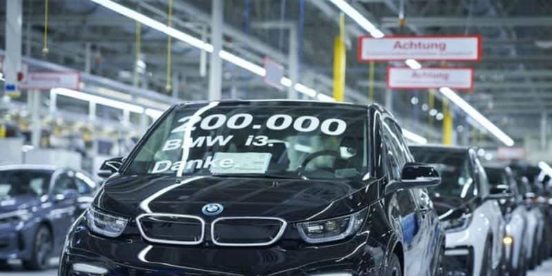 BMWのEV『i3』、20万台目がラインオフ…高級EVセグメント最多