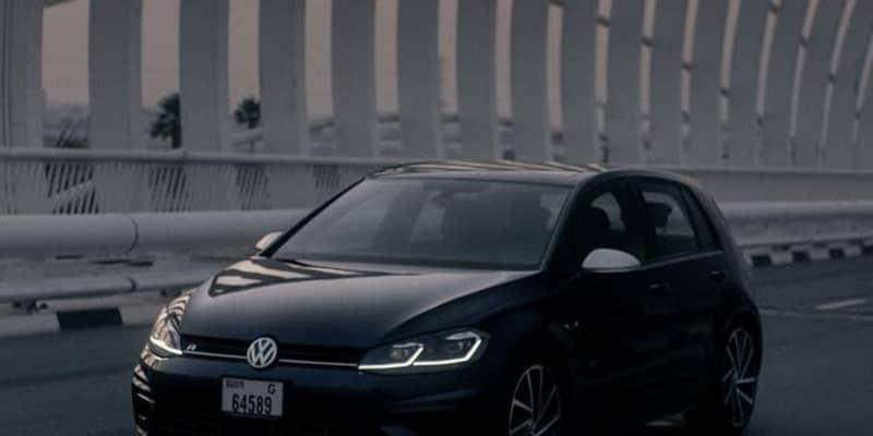 VW ゴルフR 新型、11月4日のデビューが決定…ティザー
