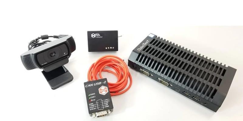 ZMP、データ計測システム「ロボデータロガー」標準パッケージの受注開始