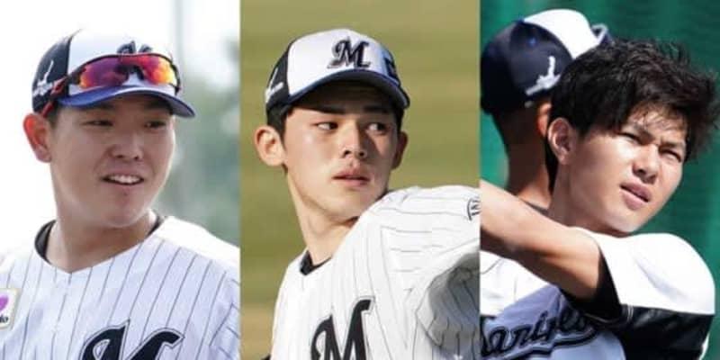 早大・早川の1位指名を決めたロッテ 選手の年齢構成から見る補強ポイントは野手?