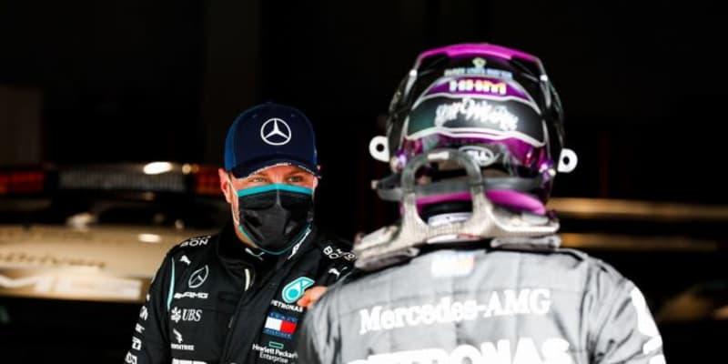 最後の最後にポールを逃したボッタス「悔しいの一言。Q3の戦略を誤った」メルセデス【F1第12戦予選】