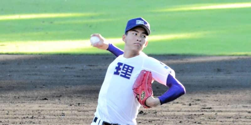 天理エース・達 まさかの11失点に「力不足を感じた」大阪桐蔭にコールド負け
