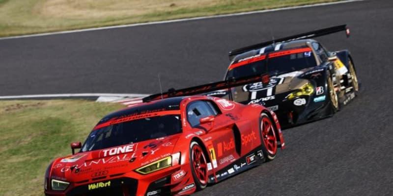 ピットタイミングが明暗を分けた鈴鹿決戦。Hitotsuyama Audi R8 LMSが今シーズン初優勝【第6戦鈴鹿GT300決勝】