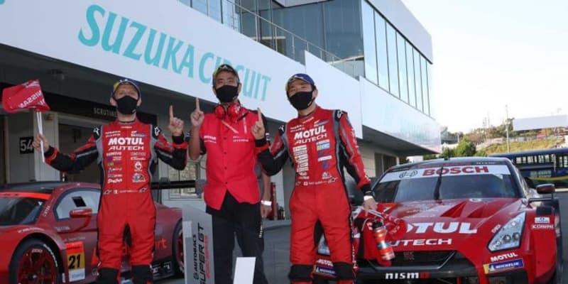 最多勝記録更新の松田「絶対にこの鈴鹿を勝たなければいけない気持ちが強かった」【第6戦鈴鹿GT500優勝会見】