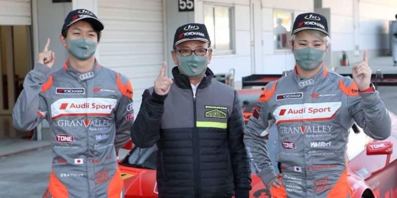 初優勝の川端「マシンもすごく進化して、最後まで自信を持って走ることができた」【第6戦鈴鹿戦GT300優勝会見】
