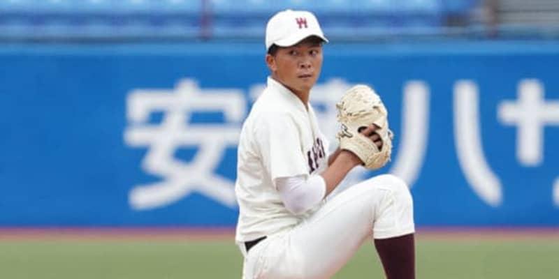 【ドラフト】早大・早川隆久、楽天が交渉権獲得! 4球団競合の末に石井GMが引き当てる