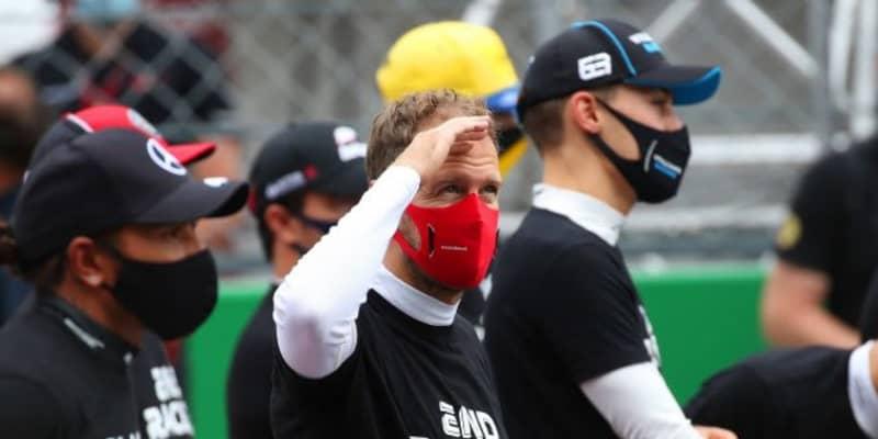 ベッテル10位「1点しか獲れなかったレースに満足することはできない」フェラーリ【F1第12戦決勝】