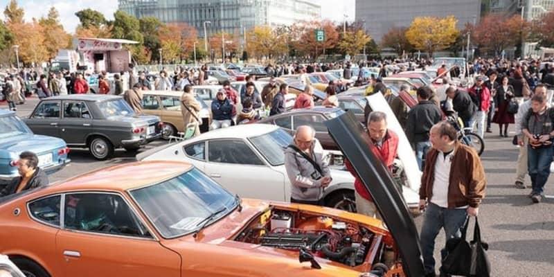 昭和レトロカー400台が大阪・舞洲に集結、超マニアック車両も登場…12月20日