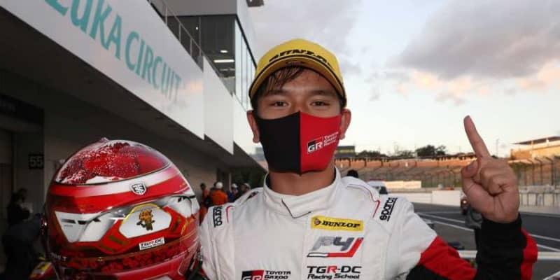 FIA-F4:平良響が3連勝で鈴鹿大会を完全制覇。ランキングトップを不動のものに