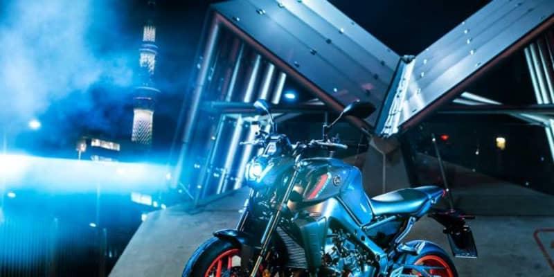 ヤマハ、新技術の軽量ホイールを初採用しフルモデルチェンジした「MT-09 ABS」を公開。日本は2021年春以降に発売
