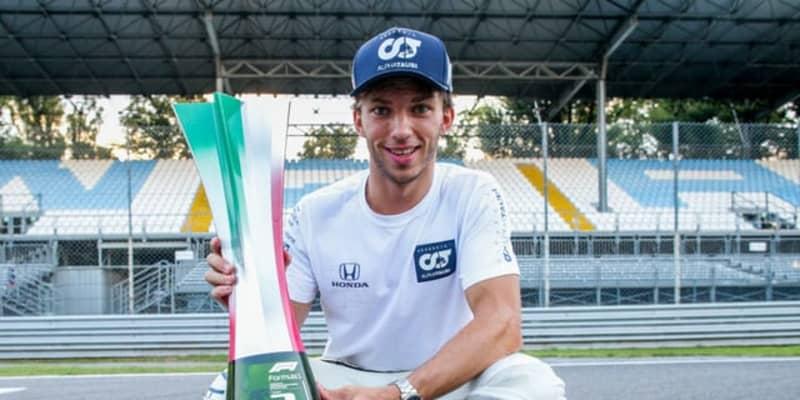 【F1】ピエール・ガスリー、2021年もアルファタウリ・ホンダから参戦