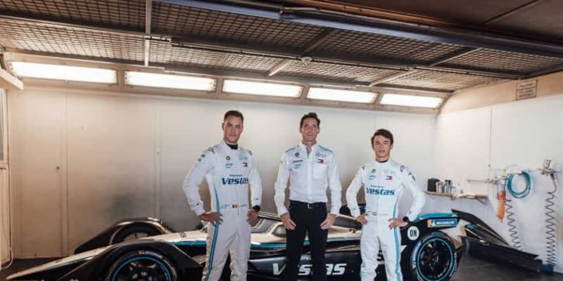 フォーミュラE:メルセデスがシーズン7マシンをお披露目。ドライバーはバンドーンとデ・フリース継続