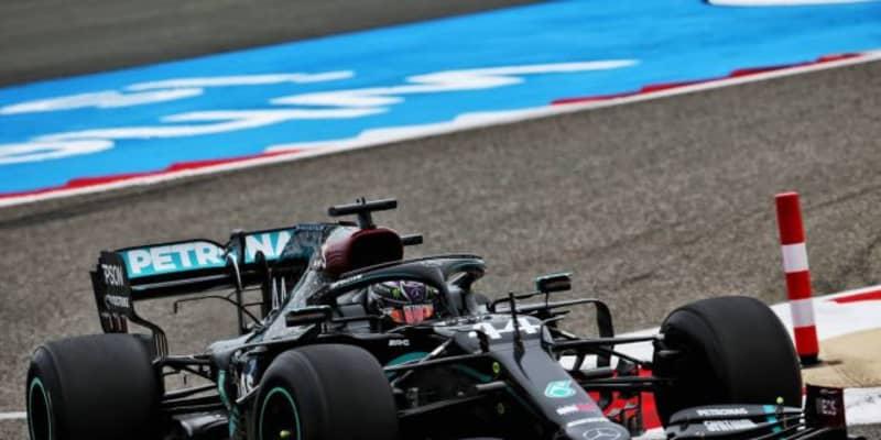 F1バーレーンGP FP1:2021年用タイヤをテスト。ハミルトンが首位、ガスリーがホンダPU勢最上の5番手