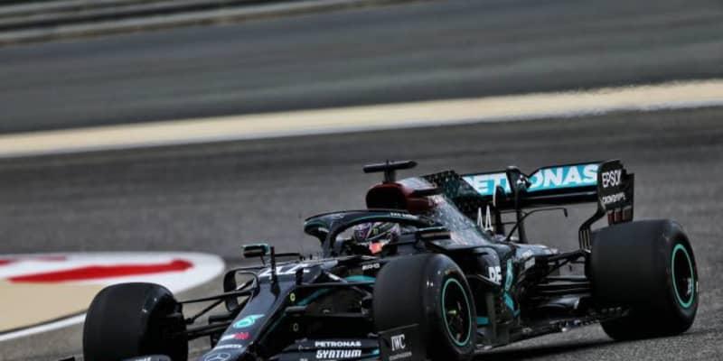 F1バーレーンGP FP2:初日最速はハミルトン。アルボンがクラッシュも、ホンダPU勢は全車トップ10入り