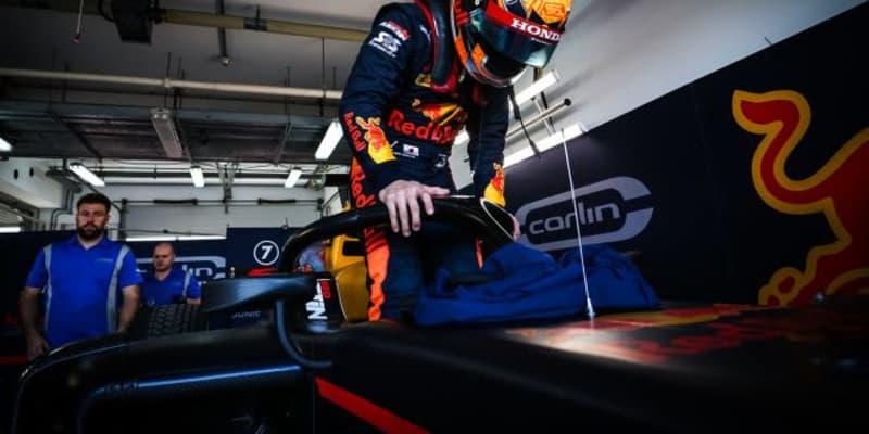角田裕毅、「前のクルマに追いついてダウンフォースが抜けてしまった。レースはとにかく攻めて走る」/FIA-F2第11戦予選