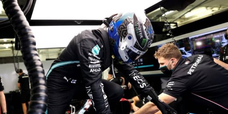 ボッタス3番手「序列はまだ予想できないが、レッドブルは手強そう」メルセデス【F1第15戦金曜】