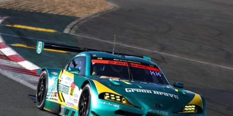 コースレコードを1秒以上更新する驚異のタイムで、埼玉トヨペットGB GR Supra GTがポールを獲得【第8戦富士GT300予選】