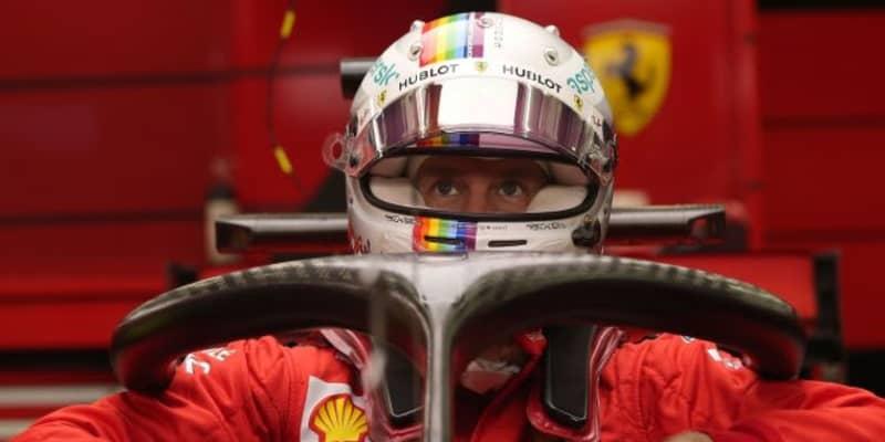 ベッテル12番手「去年ほどのパフォーマンスはないが、予選に向け改善に努める」フェラーリ【F1第15戦金曜】
