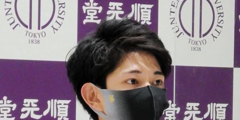 """体操・谷川翔 慣れない""""平行棒スタート""""で「リズム乱れた」全日本へ「調整する」"""
