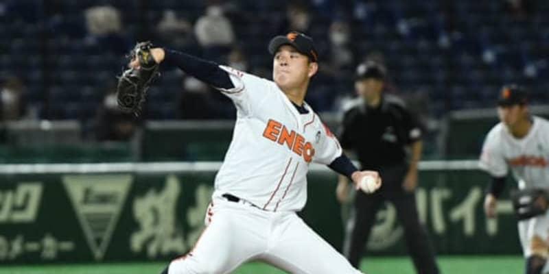 【社会人野球】楽天3位・ENEOS藤井、先発も8強導けず「優勝を置き土産にプロ入りしたかった」