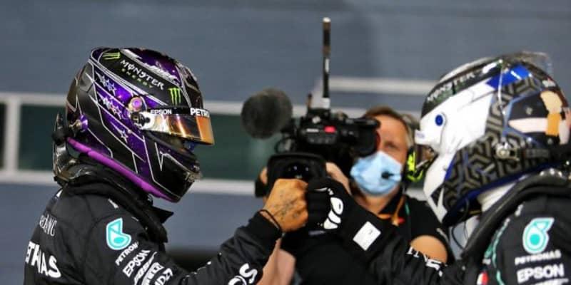 王者ハミルトンが今季10度目のポール獲得。レッドブル・ホンダが2列目に並ぶ【予選レポート/F1第15戦】