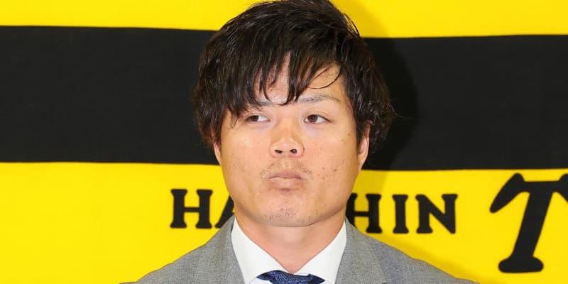阪神・守屋は大幅ダウンに「しょうがない」、来季期待の小幡はアップ
