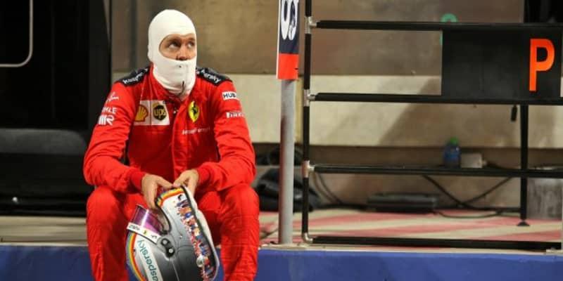 ベッテル「できるだけ事故の映像を見ないようにして過ごした」フェラーリ【F1第15戦決勝】