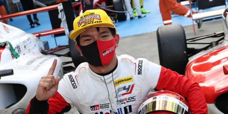 FIA-F4富士:今季10連勝を記録した平良響がシリーズチャンピオンを獲得