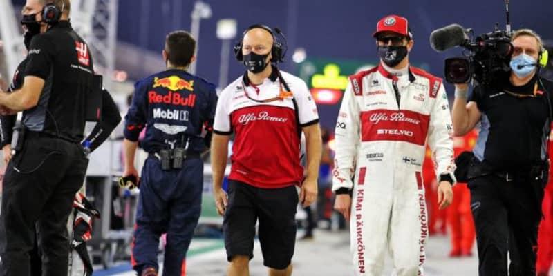ライコネン「2度のスタートでクルマにダメージを負い、パフォーマンスに大きく影響」:アルファロメオ F1第15戦決勝
