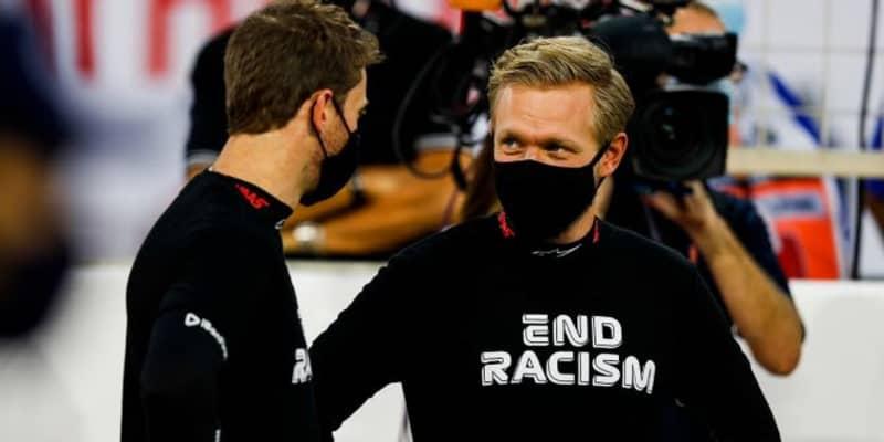 マグヌッセン「彼が生き延びたのは奇跡。ロマンを失わずにすんで、本当に良かった」:ハース F1第15戦決勝
