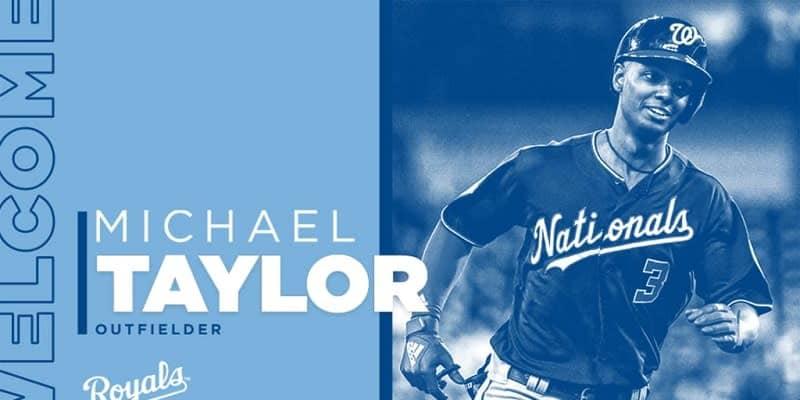 ロイヤルズがナショナルズからFAのテイラー外野手と1年契約