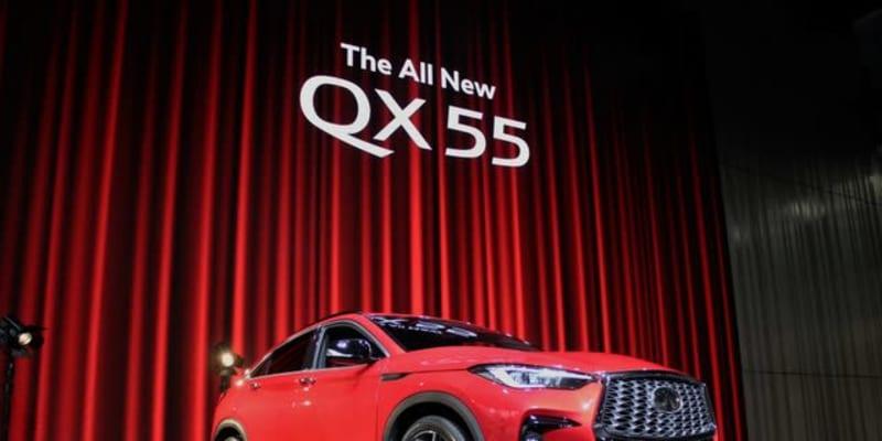 【インフィニティ QX55】FXみたいだね、は誉め言葉…デザイナー[インタビュー]
