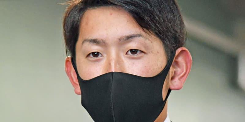 広島・遠藤、1000万増の2400万円でサイン「カープを支えるために自覚持つ」