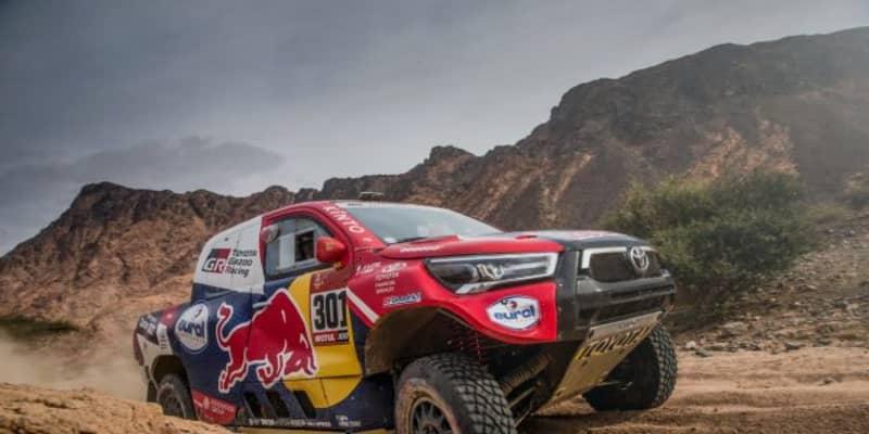ダカールラリー:トヨタのアル-アティヤがスパート! 首位との差を15分に縮め最終日へ
