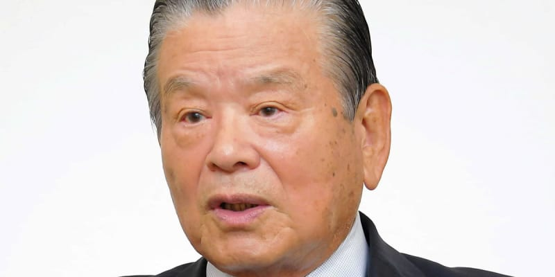 川淵三郎氏 東京五輪は「人々に夢と勇気と希望与える唯一最大のイベント」
