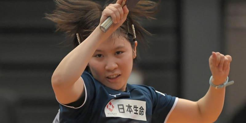 卓球 平野美宇が出場初日ベスト16で敗退 腰痛明け、10カ月ぶり実戦の全日本で