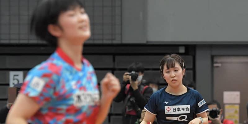 16歳木原美悠、またも平野美宇を撃破「むっちゃ足動く」初戦敗退ジュニアから一転