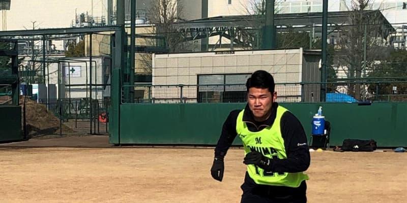 ロッテ育成2位・小沼 打撃投手のアルバイトからプロ野球選手へ