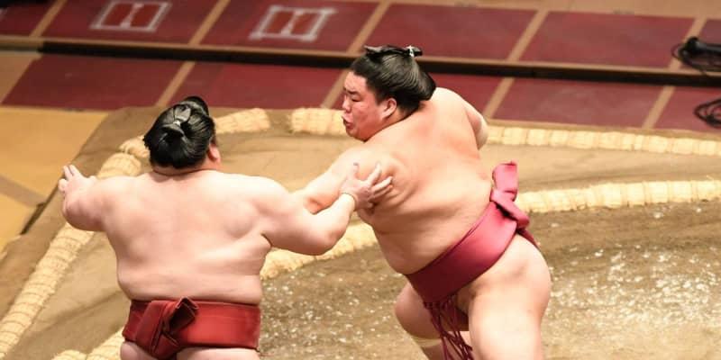 大栄翔が役力士に全勝で唯一7連勝 1敗に正代と明瀬山 2敗5人…貴景勝は2勝目