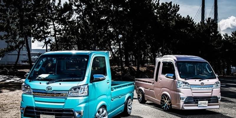 ホンキの軽トラカスタムが格好良過ぎる! エアロがキマッてる軽トラック3選【東京オートサロン2021】