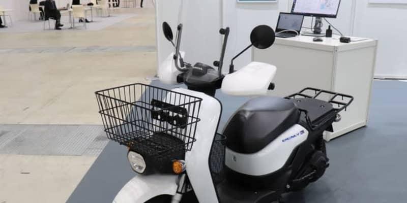 ホンダが提案するデリバリーバイクの運行管理システム…オートモーティブワールド2021